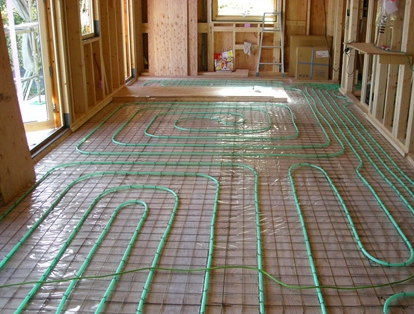 蓄熱式温水床暖房2