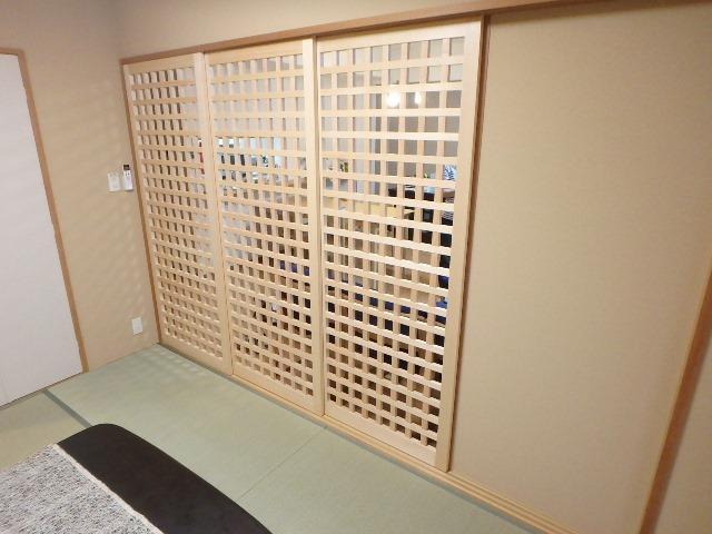 和室リフォーム 襖 横浜 マンション