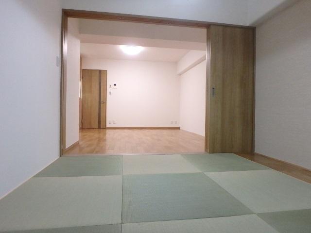マンション リフォーム 和室 畳 半畳
