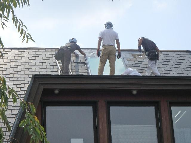 天窓 補修