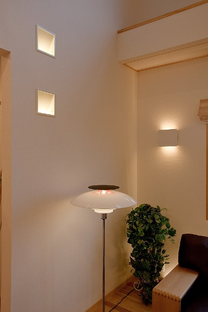 モデルハウス 補助照明