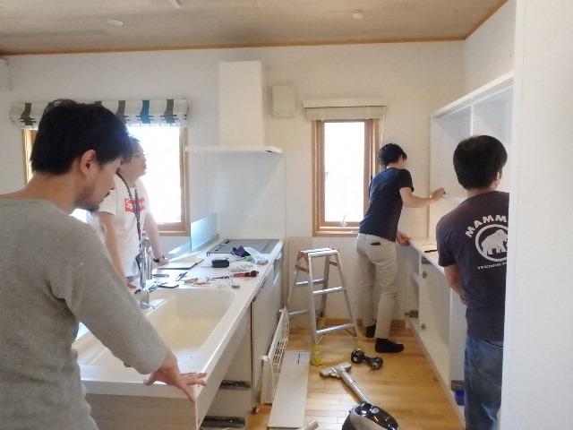キッチン交換 リフォーム 横浜