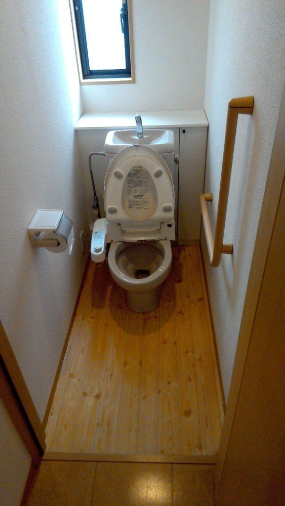 トイレ交換 ビフォー 木造戸建てリフォーム