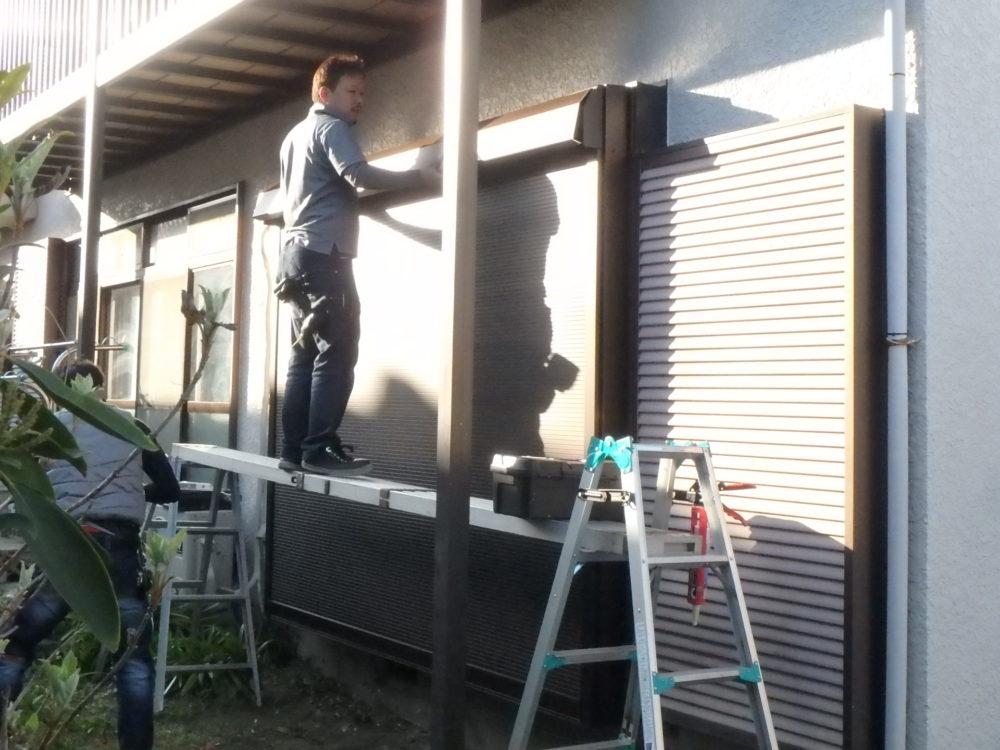 ジューテックホーム 雨戸 シャッター リフォーム YKK