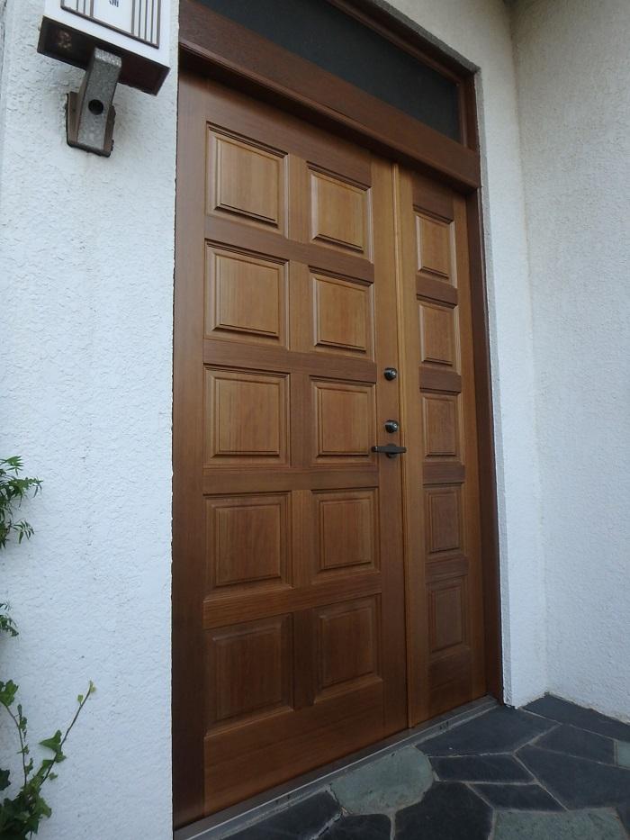 木製 玄関ドア アガチス