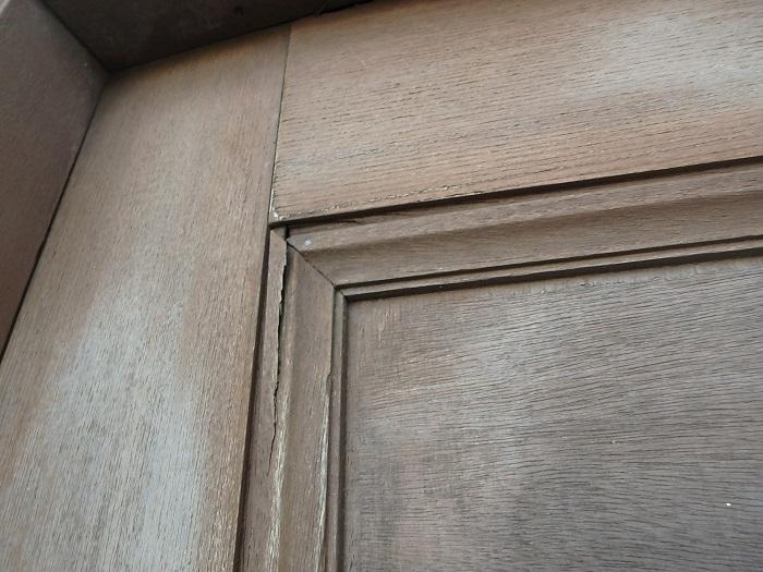 木製玄関ドア 交換 内開き メンテナンス