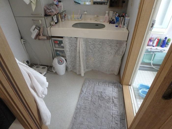 ジューテックホーム 洗面化粧台 交換