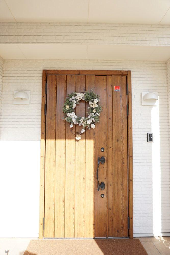 ジューテックホーム モデルハウス クリスマス リース 横浜 神奈川 東京