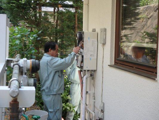 ジューテックホーム 給湯器交換 床暖房機交換
