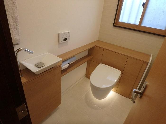 ジューテックホーム トイレ交換 レストパル TOTO 都筑 港北 横浜 東京 神奈川 ウェルリフォーム