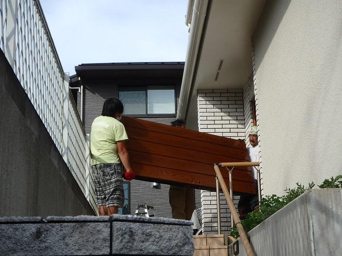 ジューテックホーム ウェルリフォーム 木製玄関ドア 輸入玄関ドア メンテナンス 塗装リフォーム