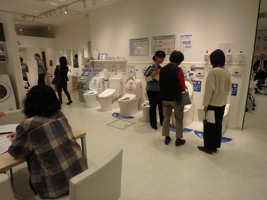TOTO ジューテックホーム イベント トイレ交換 ウェルリフォーム トイレリフォーム 横浜 東京