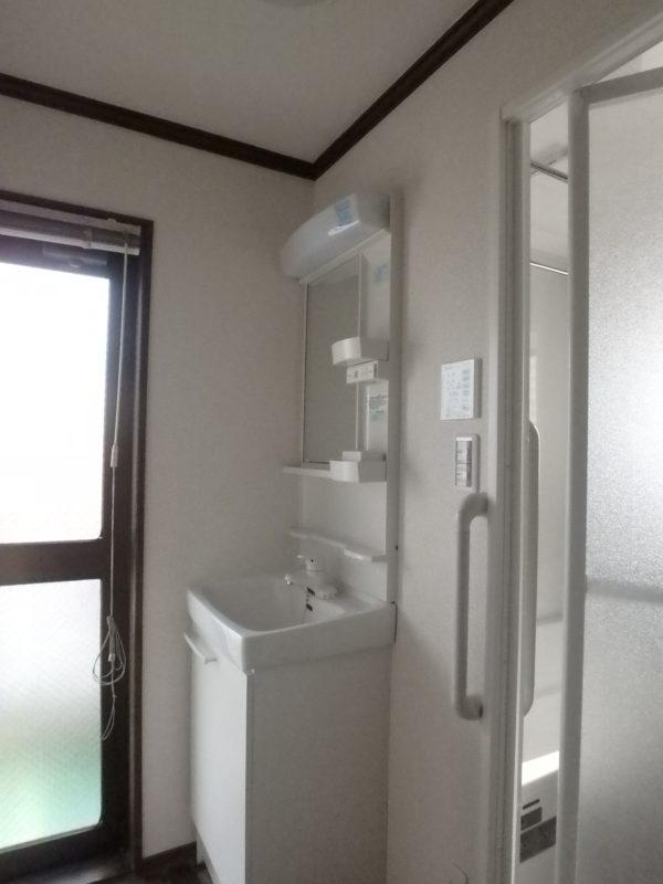 ジューテックホーム ウェルリフォーム 洗面台 リクシル 東京 横浜 都筑 港北