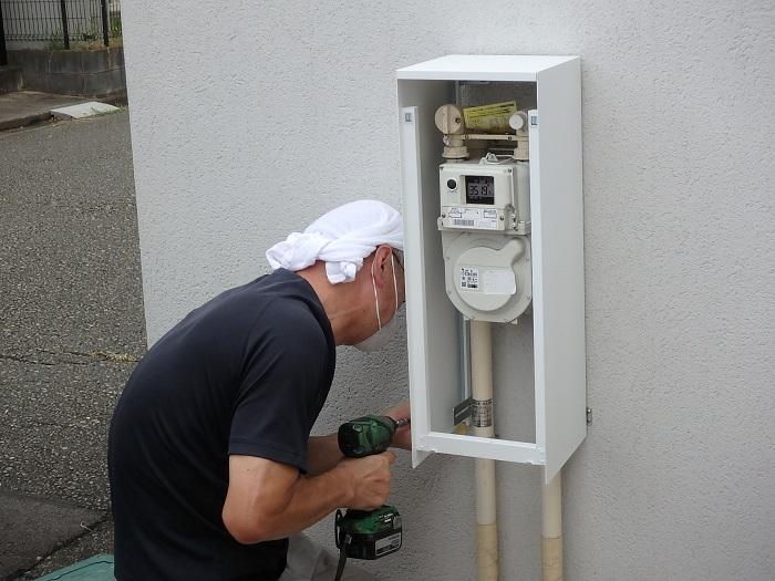 ジューテックホーム ガスメーターカバー バコ 森田アルミ工業 リフォーム