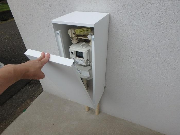 ウェルリフォーム ジューテックホーム ガスメーターカバー バコ