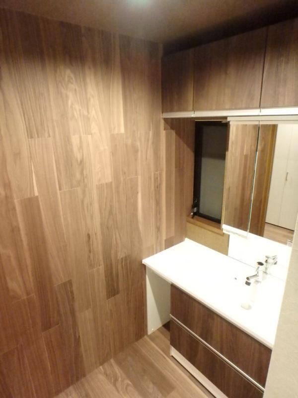 セカンド洗面 ジューテックホーム ウェルリフォーム 戸建リフォーム 洗面台 手洗い器