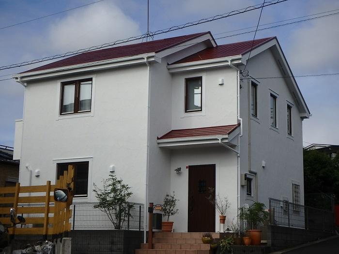 ジューテックホーム ウェルリフォーム 外装リフォーム 外壁塗装 横浜 東京 神奈川 港北 都筑 輸入住宅