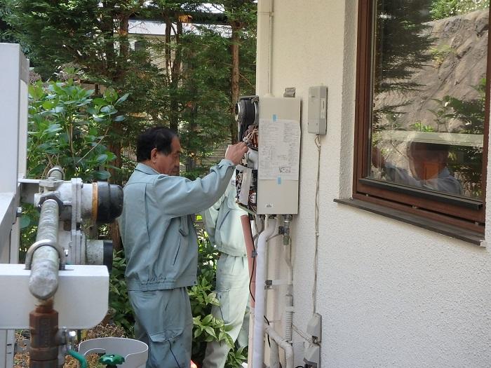 ジューテックホーム ウェルリフォーム 給湯器交換 リフォーム リンナイ ノーリツ 横浜 都筑 港北 神奈川 東京